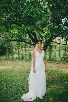 the bride & the apple tree...