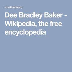 Dee Bradley Baker - Wikipedia, the free encyclopedia