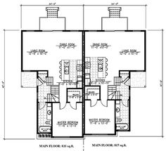 Contemporary Level One of Plan 50338