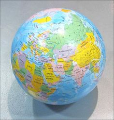 Mini Rotating #Globe #Stanfords