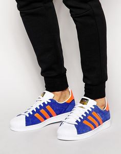 fa7c8a1a936a Image 1 of Adidas Originals East River Rivalry Superstar Trainers B34307  Adidas Men