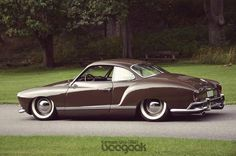 Ghia for the wife, I still think she'd look sexy driving one laid out like this.