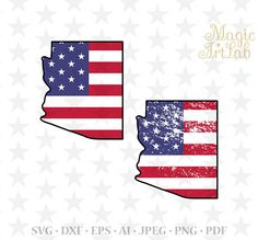Arizona state svg, Arizona textured, USA state, Patriotic print, arizona clipart, Arizona SVG, USA flag, Arizona cut, Cricut American state
