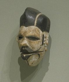 ELU FACE MASK culture Ogoni people creation date 20th century