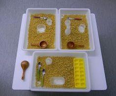 Las bandejas de experimentación como recurso para el aula de infantil.