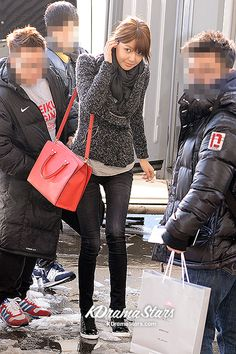Airport Fashion: Girls Generation Leaving for Japan Tour Casually in Sneakers