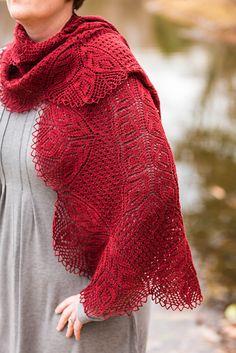 Caridad by Emily Ross - shawl sweater knitting pattern