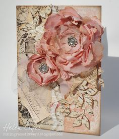 Shabby Chic Floral Card...