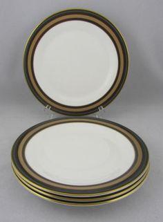 4 Royal Doulton Cadenza Pattern Salad Plates English Fine China Plate | eBay