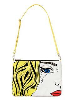 Pop Art Bag | Seed Heritage - Love this Roy Lichtenstein print!!  Very funky for pre teen girls!