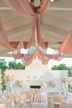 Oh my goodness, is this wedding awesome.  It's romance meets tradition meets pretty pink hues, and it's all set against the stunning setting known as St. Regis Monarch Beach .  Basically, it's the s...