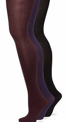 Bhs Womens Purple Multi 3 Pack of 70 Denier Opaque New improved fit opaque tights with microfibre for a softer touch. Unique body temperature control finish helps to help keep your legs warm when it is cold and cool when it is hot. With an added gusse http://www.comparestoreprices.co.uk/fashion-clothing/bhs-womens-purple-multi-3-pack-of-70-denier-opaque.asp