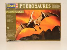 flying reptil, PteroSaurus Pteranodon, kit marca Revell, Germany Kit, Reptiles, Germany, Ebay, Cover, Books, Libros, Book, Deutsch