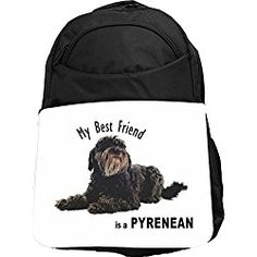 Rikki Knight My Best Friend is a Brown and White English Bulldog Messenger Bag School Bag