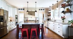 custom cabinets by Marsh Kitchens