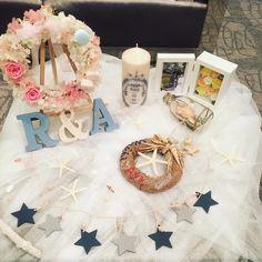 【結婚式レポ】舞台は神戸&ハワイ!こだわりDIYで、マリンウェディングを叶える♡