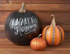 5 idées pour personnaliser ses citrouilles d'Halloween - Decocrush
