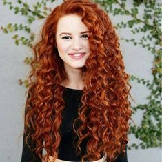 Riverdale's Madelaine Petsch Rocks Curly Red Hair For New 'Redhead Beauty' Book - See The Full Shoot! madelaine petsch curly red hair new book 10 - Photo Long Curly Hair, Curly Hair Styles, Natural Hair Styles, Curly Ginger Hair, Frizzy Hair, Curly Hair Products, Ginger Hair Color, Natural Red Hair, Natural Redhead