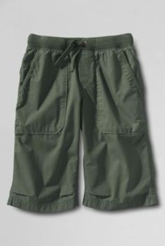 Boys' Boat Shorts from Lands' End WET CEMENT COLOR SIZE 10 TWINS SIZE 14 TATE