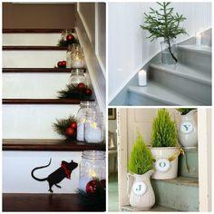 5 + 1 způsob jak vyzdobit schodiště na Vánoce