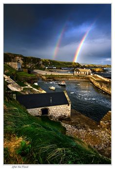 After the Flood - Ballintoy by Signal-Womb