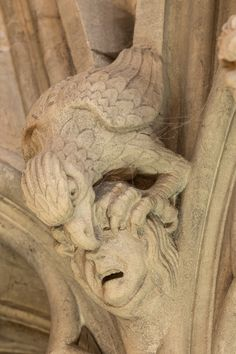 York Minster grotesques 约克大教堂
