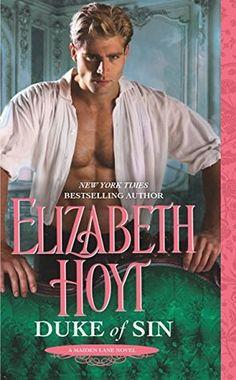 Duke of Sin (Maiden Lane, Book 10) by Elizabeth Hoyt - historical romance