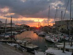 Saint Martin harbour Ile de Re