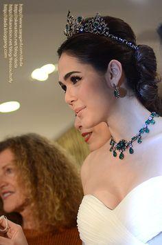 Duchess of Devonshire Emerald Tiara in Thailand