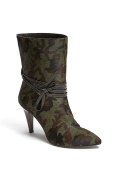 Camo Crush! Nine West booties.