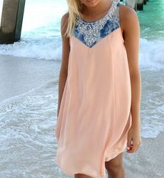 Diamond vest dress