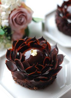 What a gorgeous chocolate pastry...