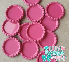 Bottle Caps 1 Circle Double Sided Flat by LulusBowtiqueSupply