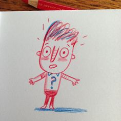 Pretty much how my day is going. #tuesday #ohdear #sketch #sketchbook #doodle #drawing (c) Linzie Hunter