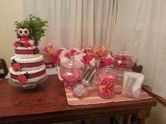 Lady bug candy bar by me