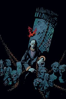 Mike Mignola, Tales of the Vampires Art And Illustration, Illustrations, Comic Book Artists, Comic Artist, Comic Books Art, Darkhorse Comics, Marvel Comics, Horror Comics, Fantasy Kunst