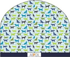 """ASPCA Unisex Scrub Print Cap in """"Purrs & Furs"""" 9562-Purr    ASPCA Unisex Scrub Print Cap in """"Purrs & Furs""""    Unisex cap ties at the back for your best fit.  Fabric: 65/35 brushed Poly/Cotton blend  Sizes: One Size Fits All  Colors: Purrs & Furs $18.00  #scrubcouture #aspca #scrubs #nurses"""