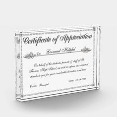Partnership certificate of appreciation template templates certificate of appreciation personalized award yelopaper Image collections