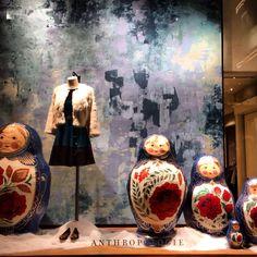 Anthropologie displays/NYC