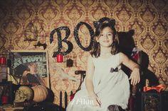 Sesión de fotos infantil de halloween en estudio en barcelona, sesión de fotos…