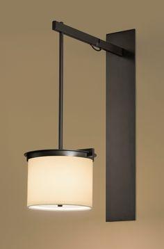 Kolom Wall Lighting by Kevin Reilly Lighting Interior Lighting, Home Lighting, Modern Lighting, Lighting Design, Bathroom Lighting, Light Fittings, Light Fixtures, Ceiling Light Design, Wall Lights