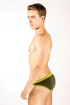 Dietz - Maceio Swim Slip - Green