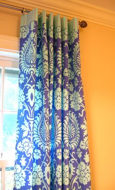 Window Panels Drapery Curtain Amy Butler Love by ItsSoVintage