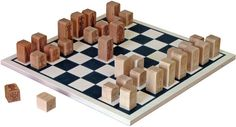 "Maple Landmark Our Basic Chess Set is complete with 15"" square by 3/8"" thick hardwood board and 32 chess men. Each playing piece has its corresponding move pattern engraved its bottom. Maple ""light"" a"