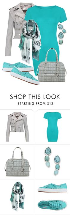 """TURQUOISE"" by jckallan ❤ liked on Polyvore featuring W118 by Walter Baker, WearAll, GUESS, Ippolita, Unpaired, Superga, turquoise and contestentry"