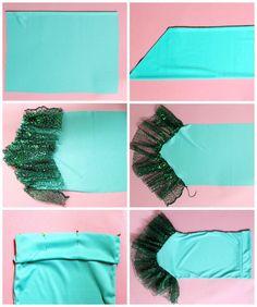 How To Make a Mermaid Skirt - FYNES DESIGNS   FYNES DESIGNS