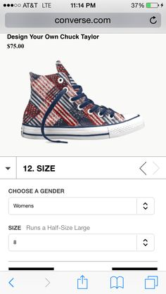 Converse high tops customized