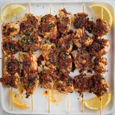 Don't let the name Pollo alla Diavola, aka Devil's Chicken, scare you away from this recipe. Sure, there's plenty of red pepper flakes happening with these skewers, but a zesty sun-dried tomato sauce offers a sweet reprieve. I guarantee you and your friends won't be able to get enough.