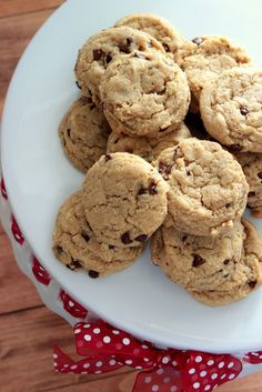 The Busty Baker: Chocolate Chip Cookies (with Cream Cheese)