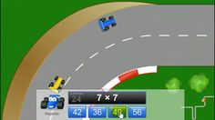 Grand Prix Multiplication math game time - Learn Something New